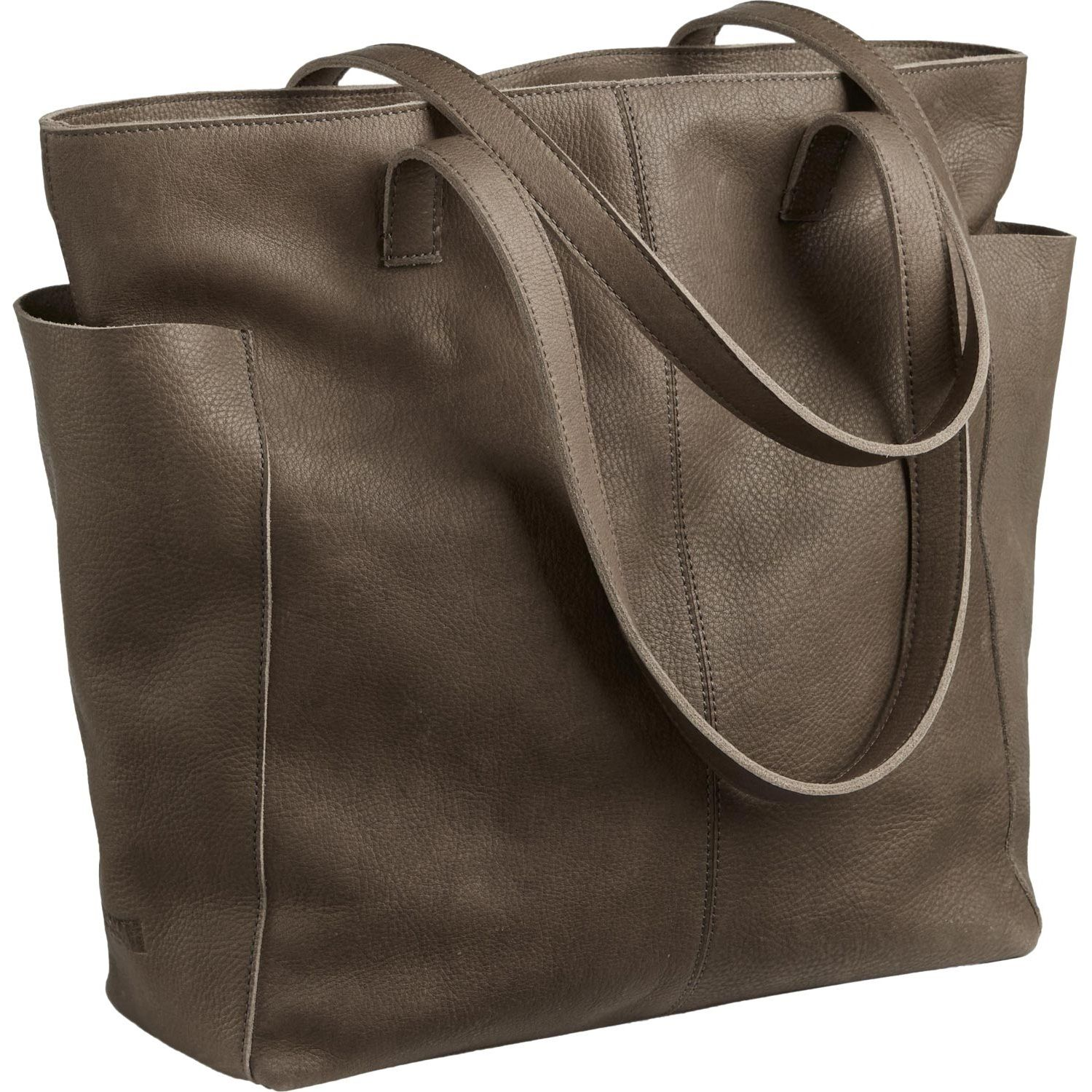 Amazing Women Leather Tote Bag Brown