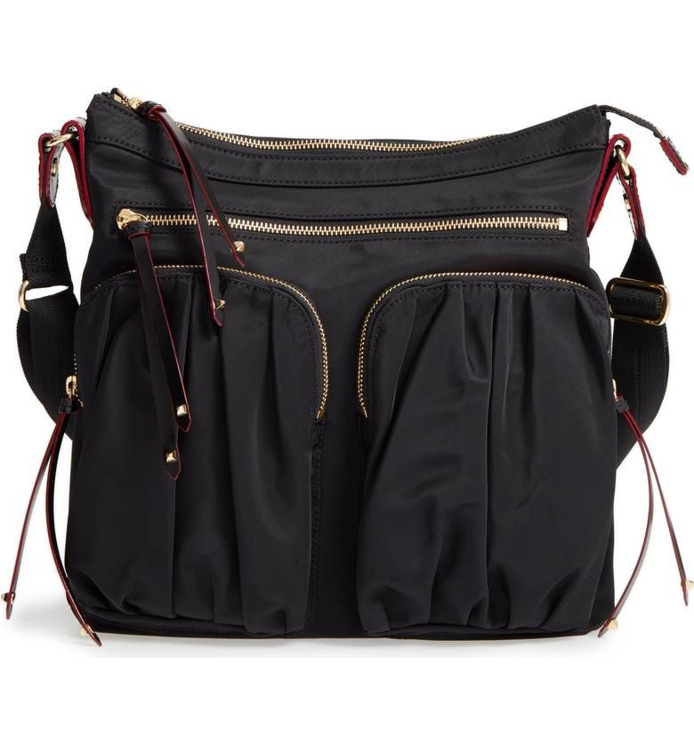 374d63806c Travel bag option  MZ Wallace Mia Bedford crossbody bag. Details at une  femme d un certain age. Find this Pin and more ...