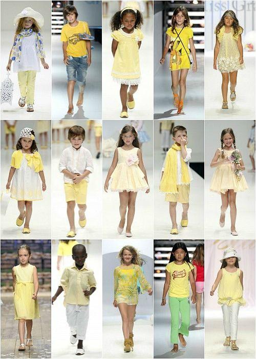 Colores refrescantes para los niños esta primavera | VESTIDOS ...