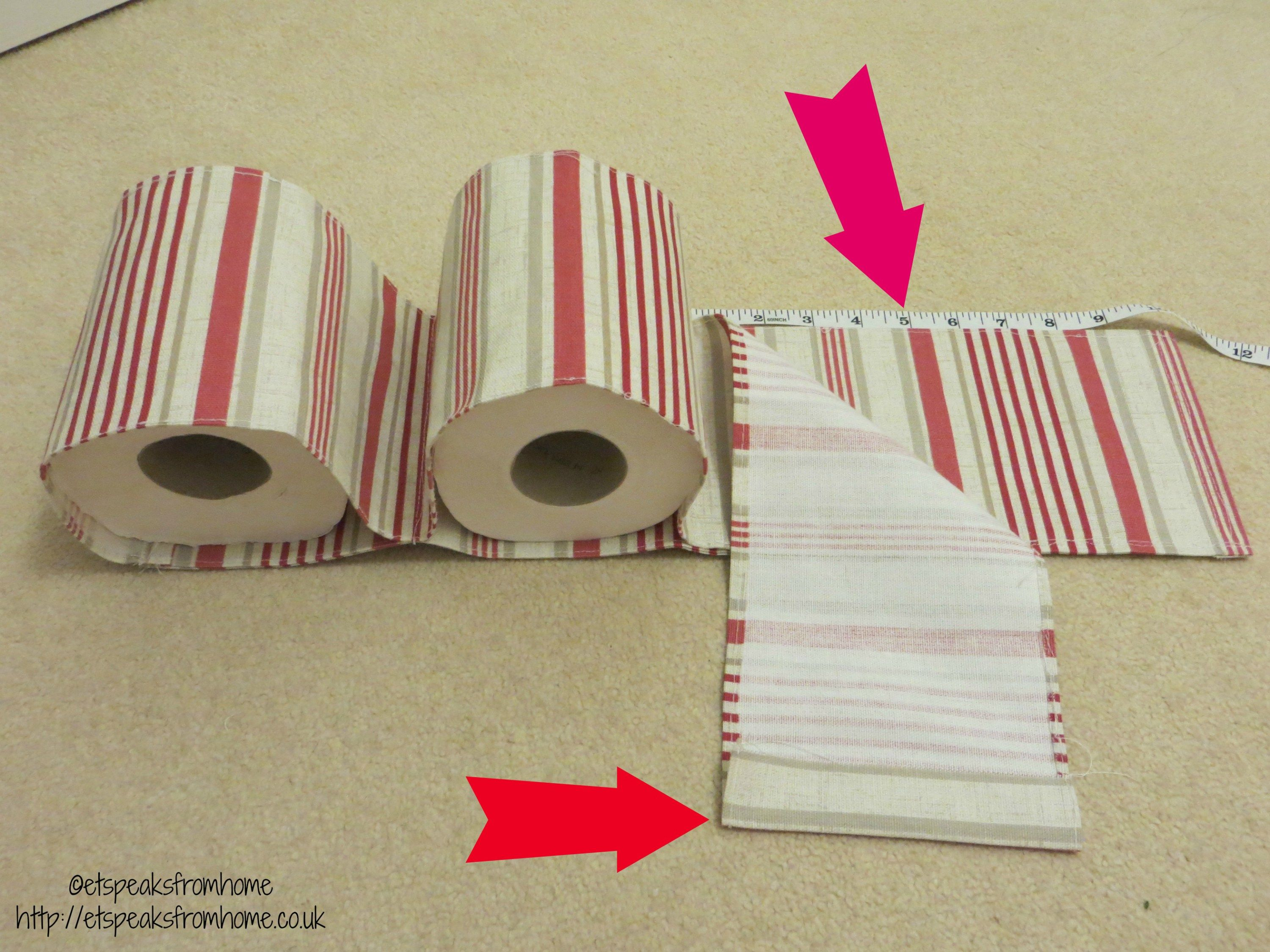 Diy Fabric Toilet Paper Holder Et Speaks From Home Diy Papier Toilettenpapier Aufbewahrung Toilettenpapierhalter Diy