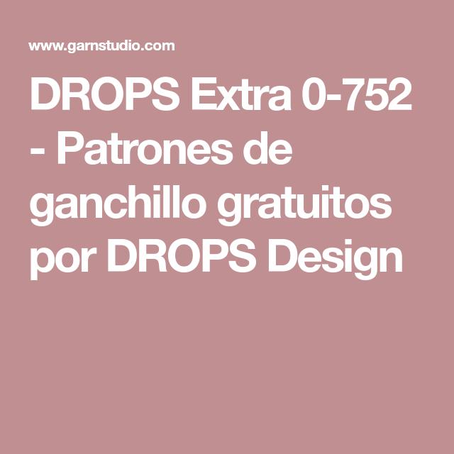 DROPS Extra 0-752 - Patrones de ganchillo gratuitos por DROPS Design ...