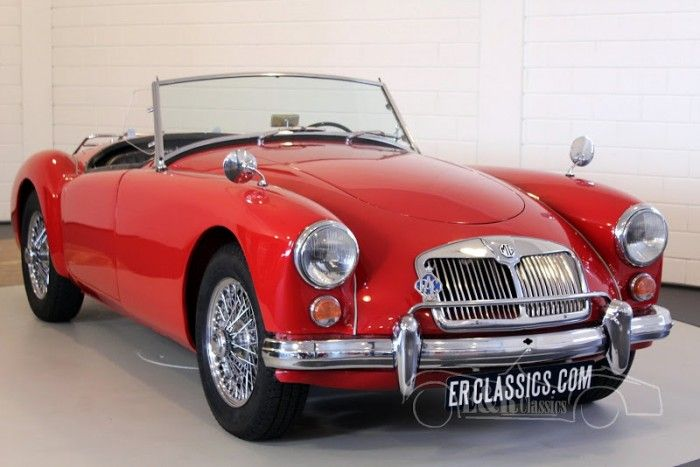 MG MGA Cabriolet 1960