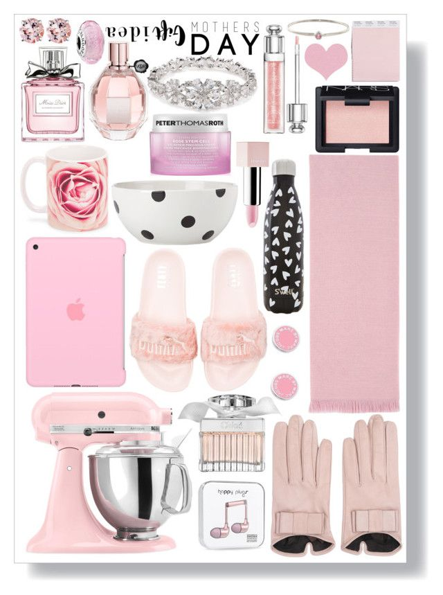 """""""Mother'sDay Gift Guide: Contest Entry"""" by isquaglia ❤ liked on Polyvore featuring Sephora Collection, KitchenAid, Gucci, Peter Thomas Roth, S'well, Christian Dior, NARS Cosmetics, Mario Portolano, Kate Spade and Viktor & Rolf"""