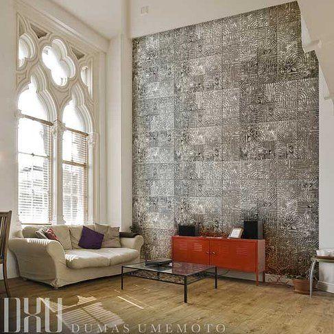 Decorative Wall Tiles For Living Room Enchanting Dxu  Dumas Umemoto  Artistic Wall Tiles  Metropolis Giant Review