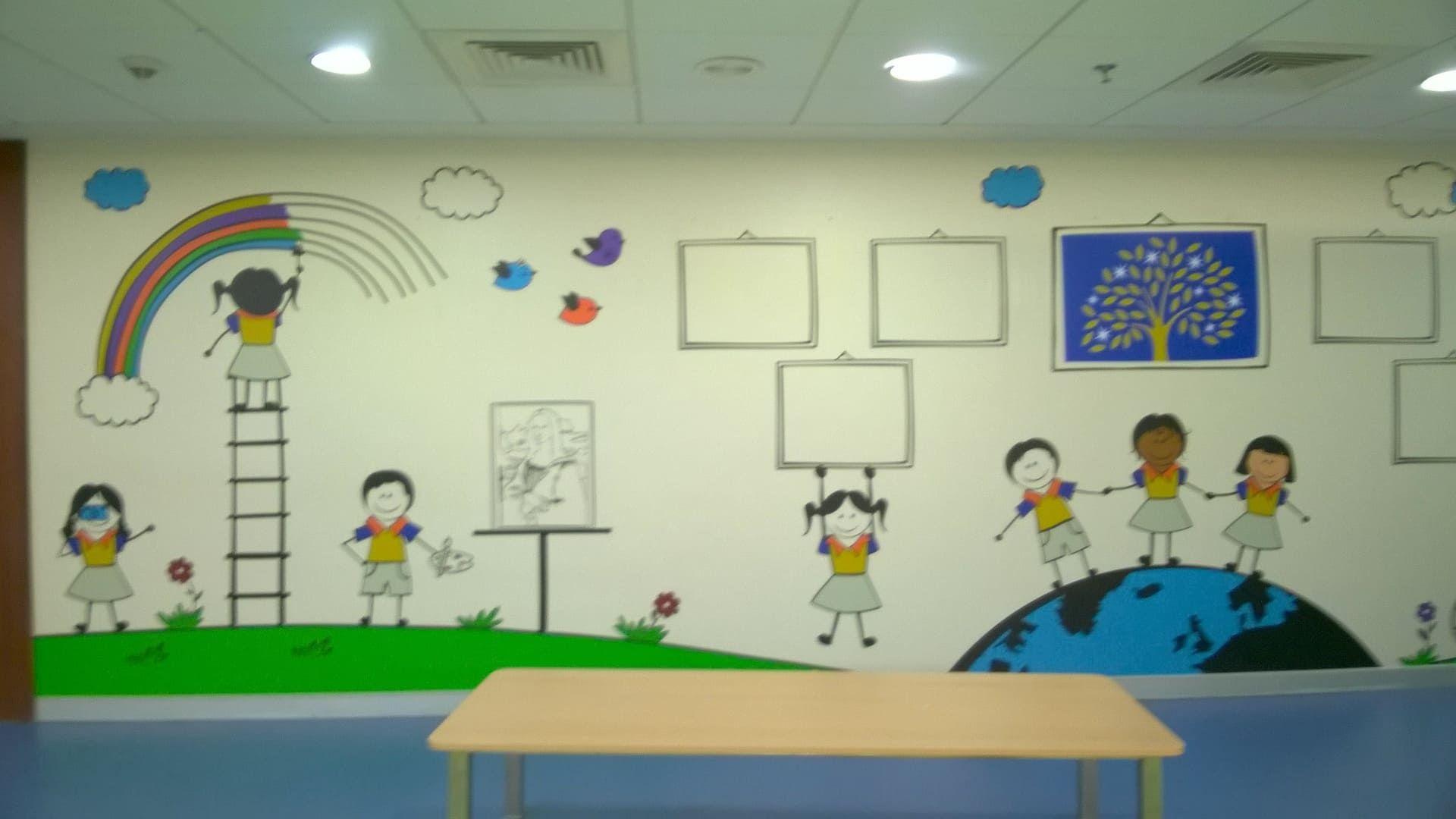 Mockingbird Studios Mumbai Customized Wall Graphics Decals Wallpapers Canvas Schools 8 School Graphic Wall Graphics