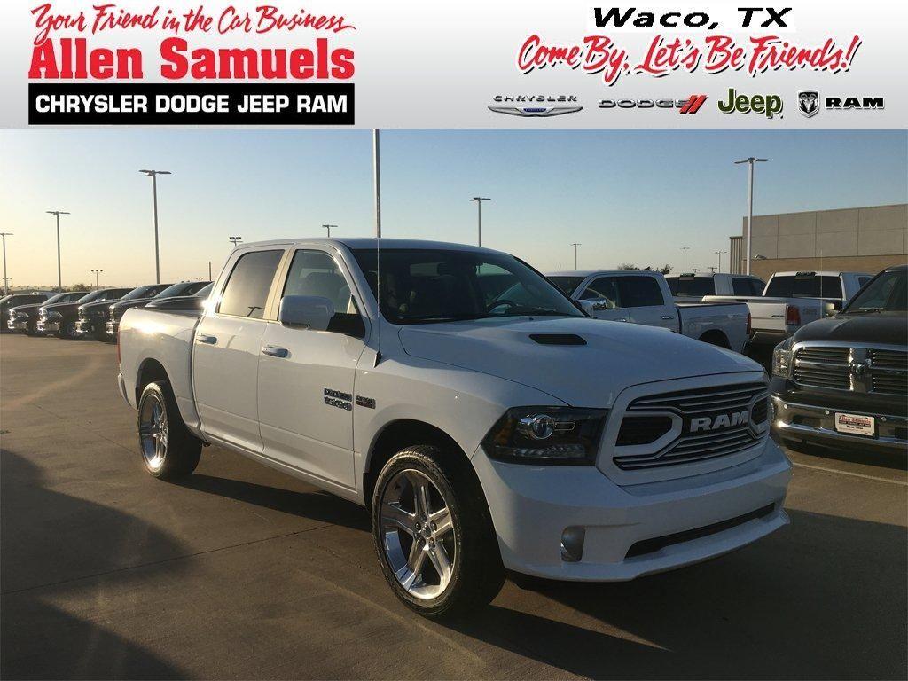 New 2018 Ram 1500 Crew Cab In Waco 18t50033 Allen Samuels Dodge