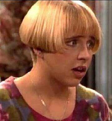Becky Roseanne Haircut Lecy Goranson/B...