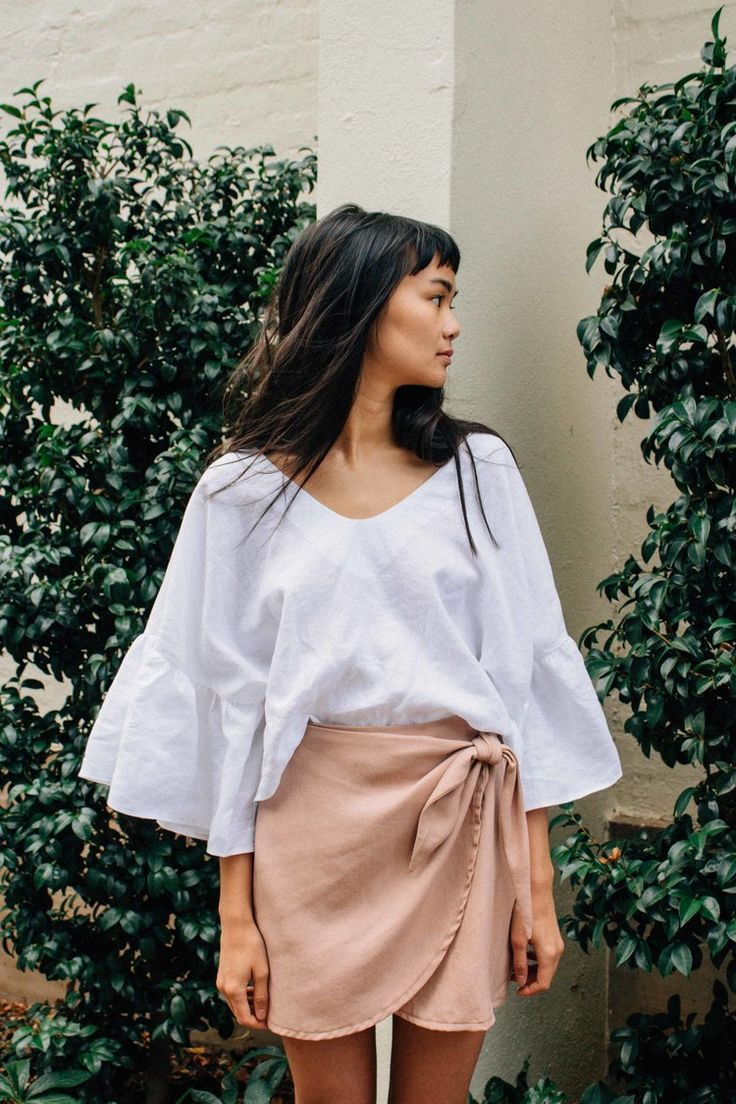 Here are some ideas for how to select fabrics and style the new City Stroll Wrap Skirt pattern.