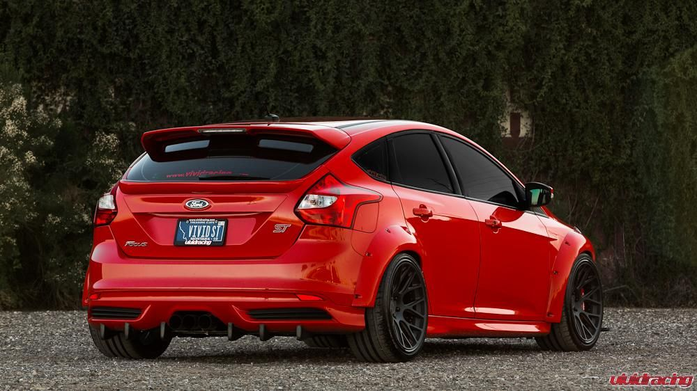 Vivid Racing Focus St Sema Show Car With Images Ford Focus St