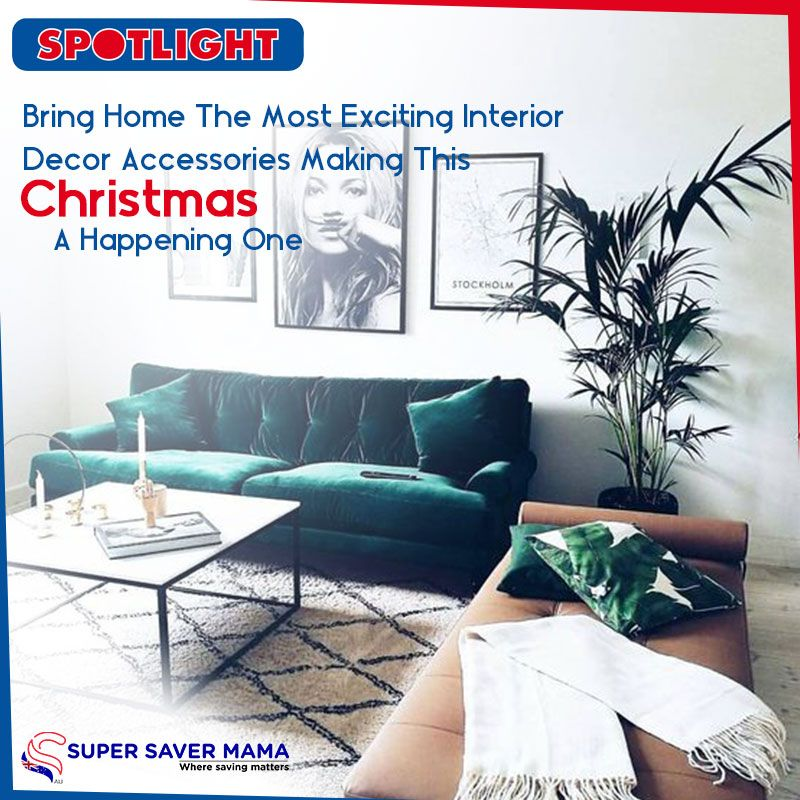 this christmas get the most exciting interior decor accessories