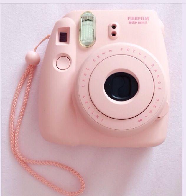 Cute Baby Pink Polaroid Camera