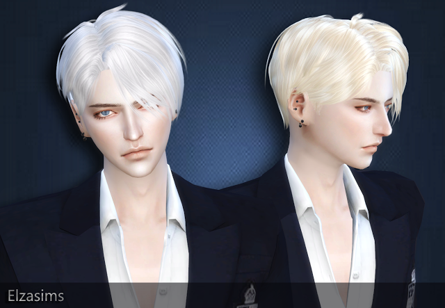 Sims 4 Ccs The Best Male Hair By Elzasims The Sims 4 Cc Sims