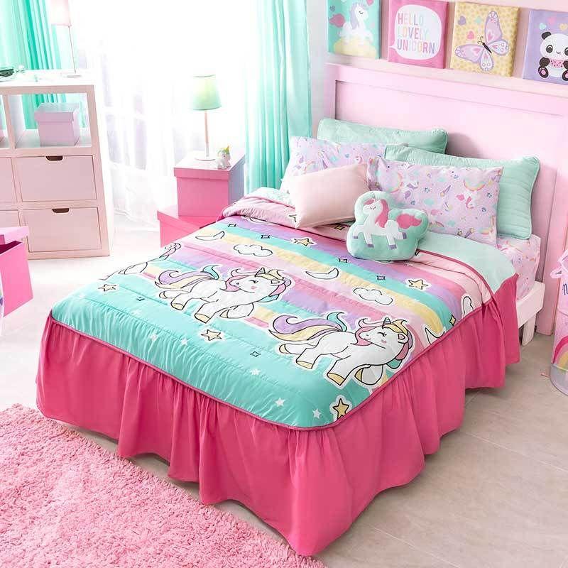 Unicorn Reversible Bedspread En 2020 Decoration Chambre