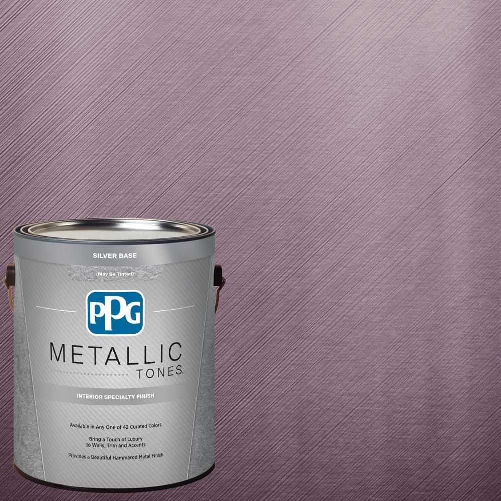 Superieur PPG METALLIC TONES 1 Gal. MTL118 Pink Smolder Metallic (Grey) Interior  Specialty Finish Paint