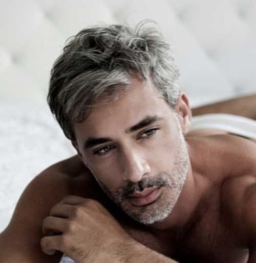 Outstanding 10 Best Men With Gray Hair Mens Hairstyles 2014 Fashion Short Hairstyles For Black Women Fulllsitofus
