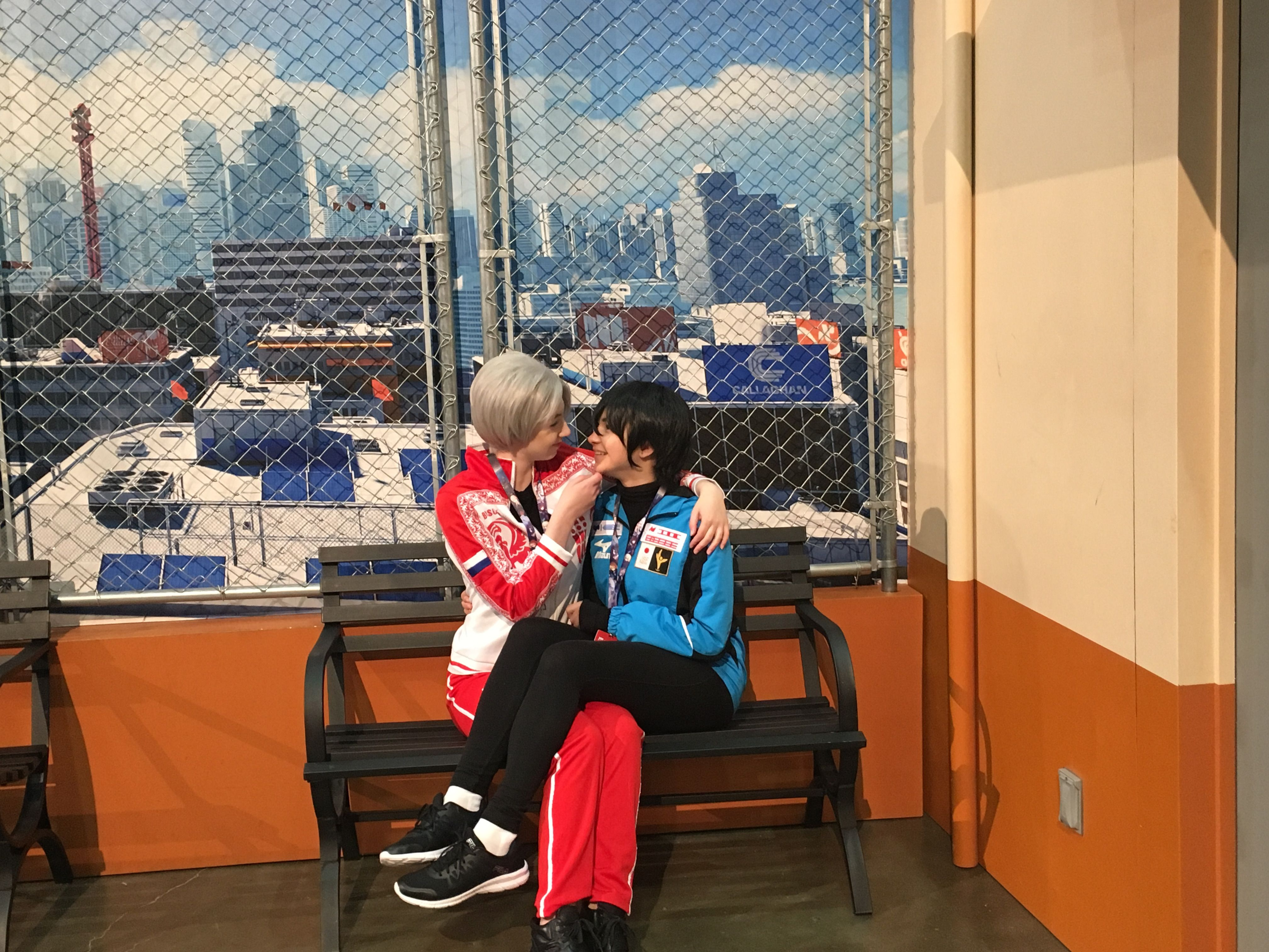 Victor and Yuri - Yuri On ice Anime Expo 2017