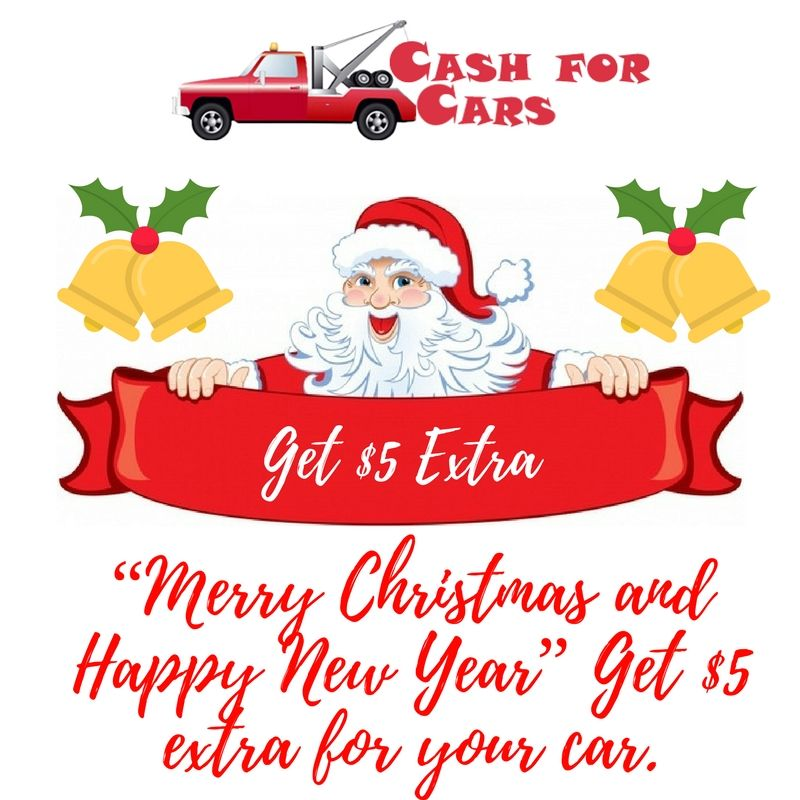 "Merry Christmas and Happy New Year"" Get $5 extra for your car ..."
