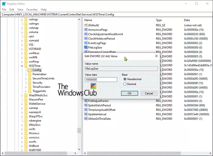 How To Turn On Debug Logging In The Windows Time Service In 2020 System Restore Microsoft Support Windows