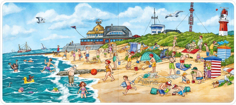 Wimmelbild Strand