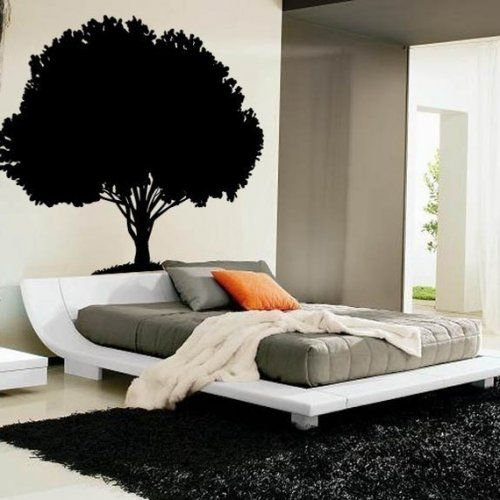 What I Would Do With This Tree Is Get White Letter Decals And Put - How to put up a tree wall decal