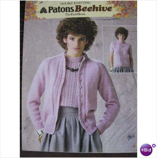 d023e640f authentic f78e0 e1233 patons knitting pattern b7324 32 40 81 102cm ...