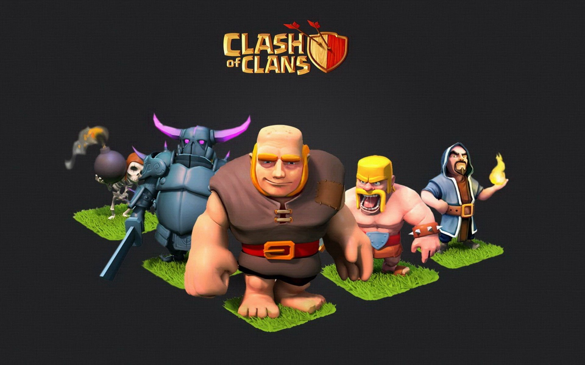 Clash Clans Wallpapers High Quality Download Free Dengan
