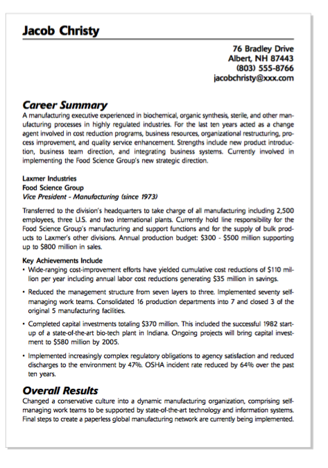 example of food service group resume httpexampleresumecvorgexample - Food Science Resume Examples