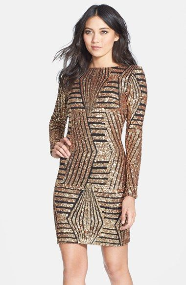 Sequin Party Dress - perfect for New Year's Eve!
