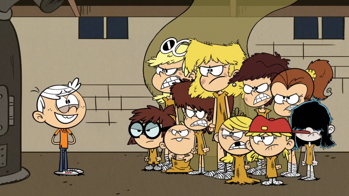 The Green House Gallery Loud House Characters Savage Animals