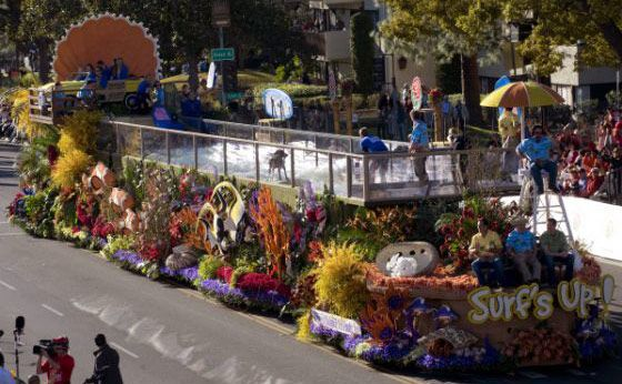 Love The Tide On The Natural Balance Rose Parade Float Rose Parade Parade Float Parades
