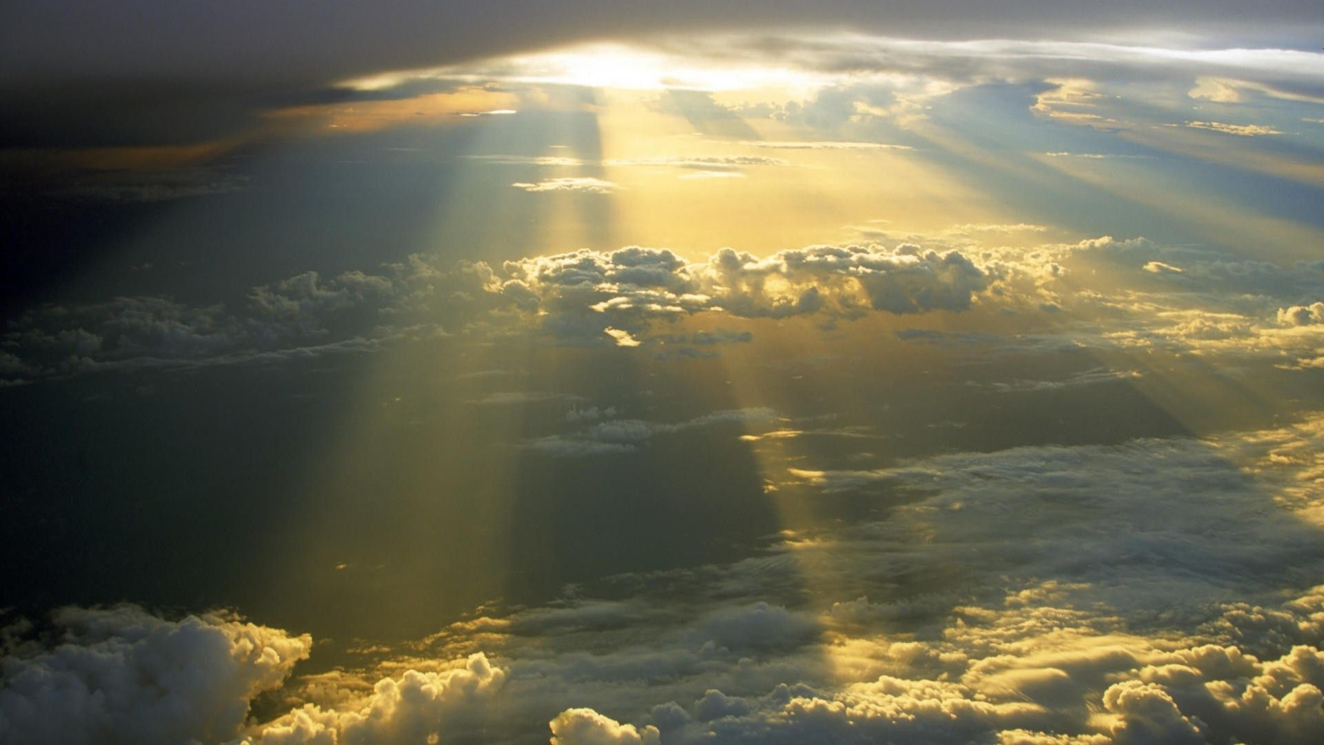 Sun breaking through the clouds wallpaper | Clouds, Cloud wallpaper,  Pictures of the sun
