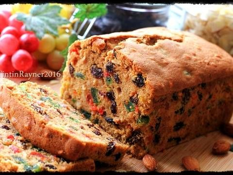 English Fruit Cake Classic Rich Delicious Recipe Cakes And