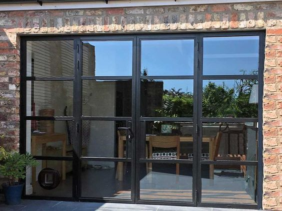Pin By N On Garage Doors French Doors Aluminium French Doors Aluminium Doors