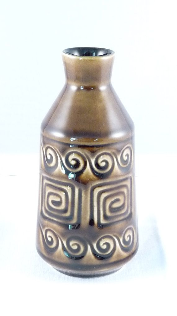 Sylvac Vase Oil Or Vinegar Bottle Totem Design Or Pattern 4022