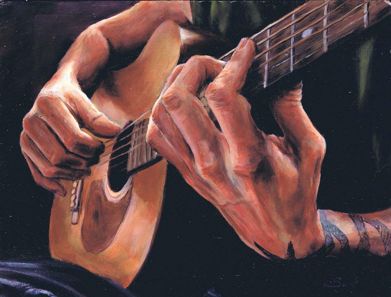 Рука гитара картинки