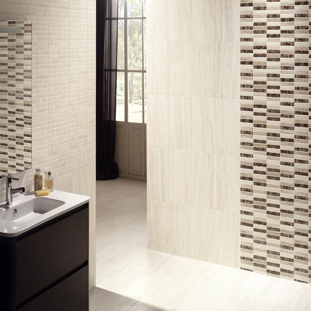 Floor And Decor Tile Class Tile Haven  Megara Marron 25X40  Gorgeous Bathrooms  Pinterest