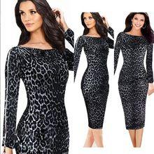Leopard Haljine Online Prodaja Muška I ženska Garderoba