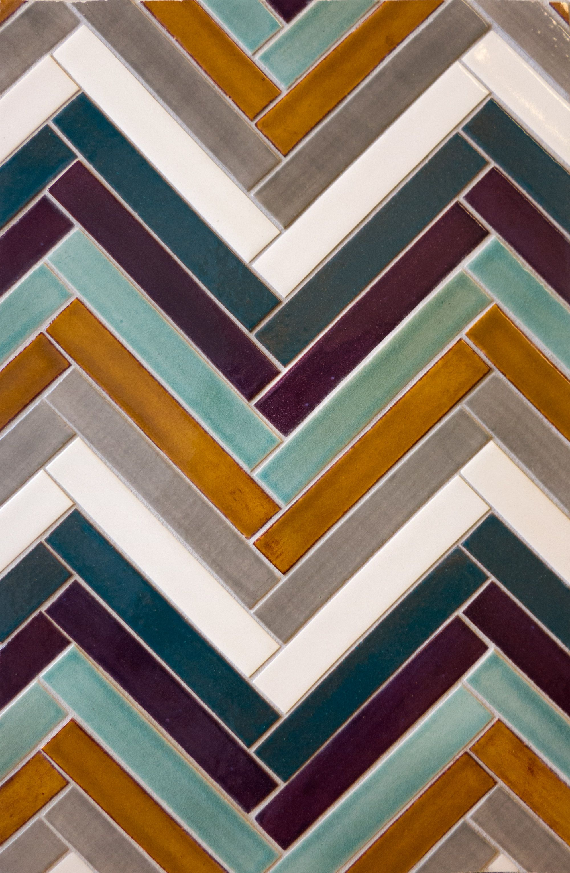 Subway Tile Mosaic Subway Tile Backsplash Mercury Mosaics Mercury Mosaics Handcrafted Tile Herringbone Tile
