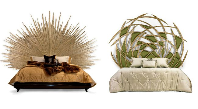 Are these sculptures or headboards?!