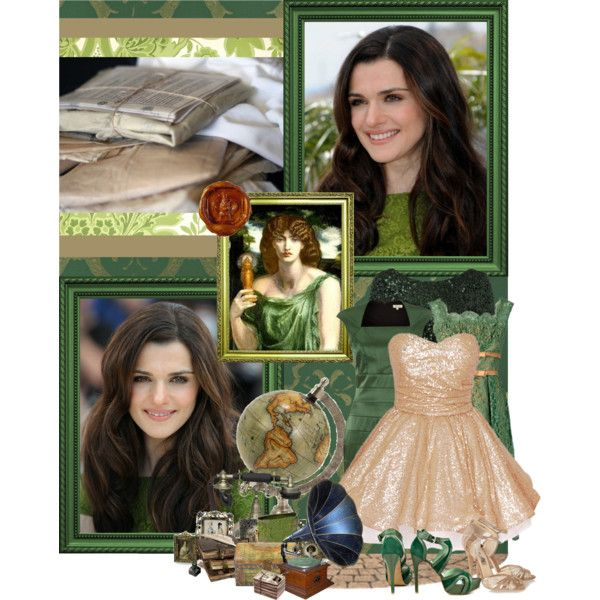 "Rachel Weisz as ""Mnemosyne - The Memory-Goddess"" by phyxsius on Polyvore"