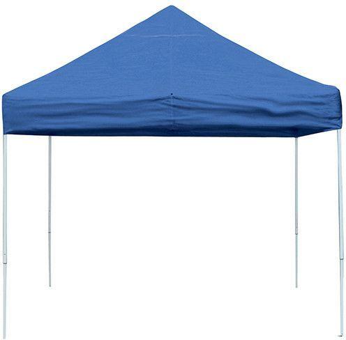 ShelterLogic 22562 10 ft. x 10 ft. Pro Pop-up Canopy Straight Leg Blue Cover