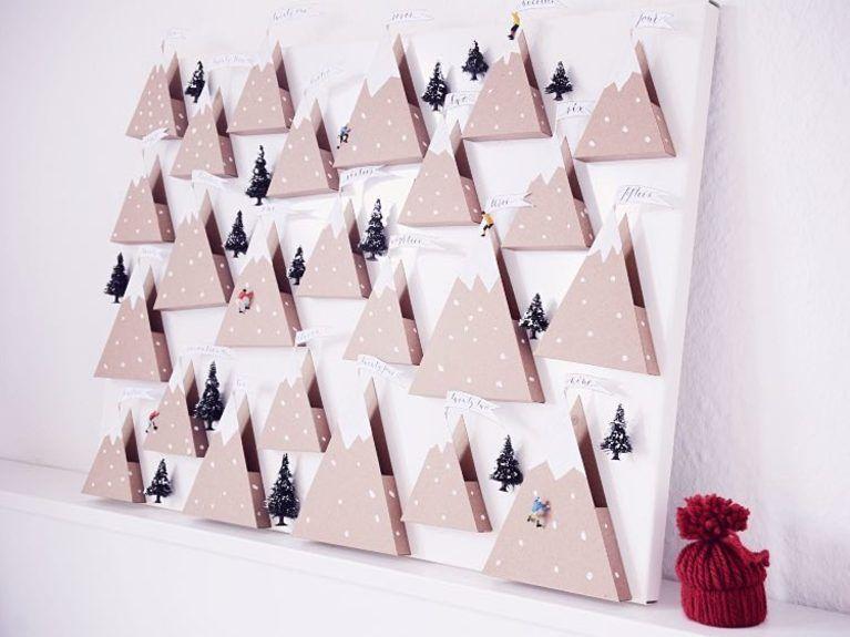 Tutoriel diy fabriquer un calendrier de lavent aux montagnes tutoriel diy fabriquer un calendrier de lavent aux montagnes enneiges sur dawanda christmas calendardiy solutioingenieria Choice Image
