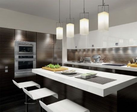 Contemporary Kitchen Design Unique Beautiful And I Really Love The Under Cabinet Lighting  Kitchen Inspiration Design