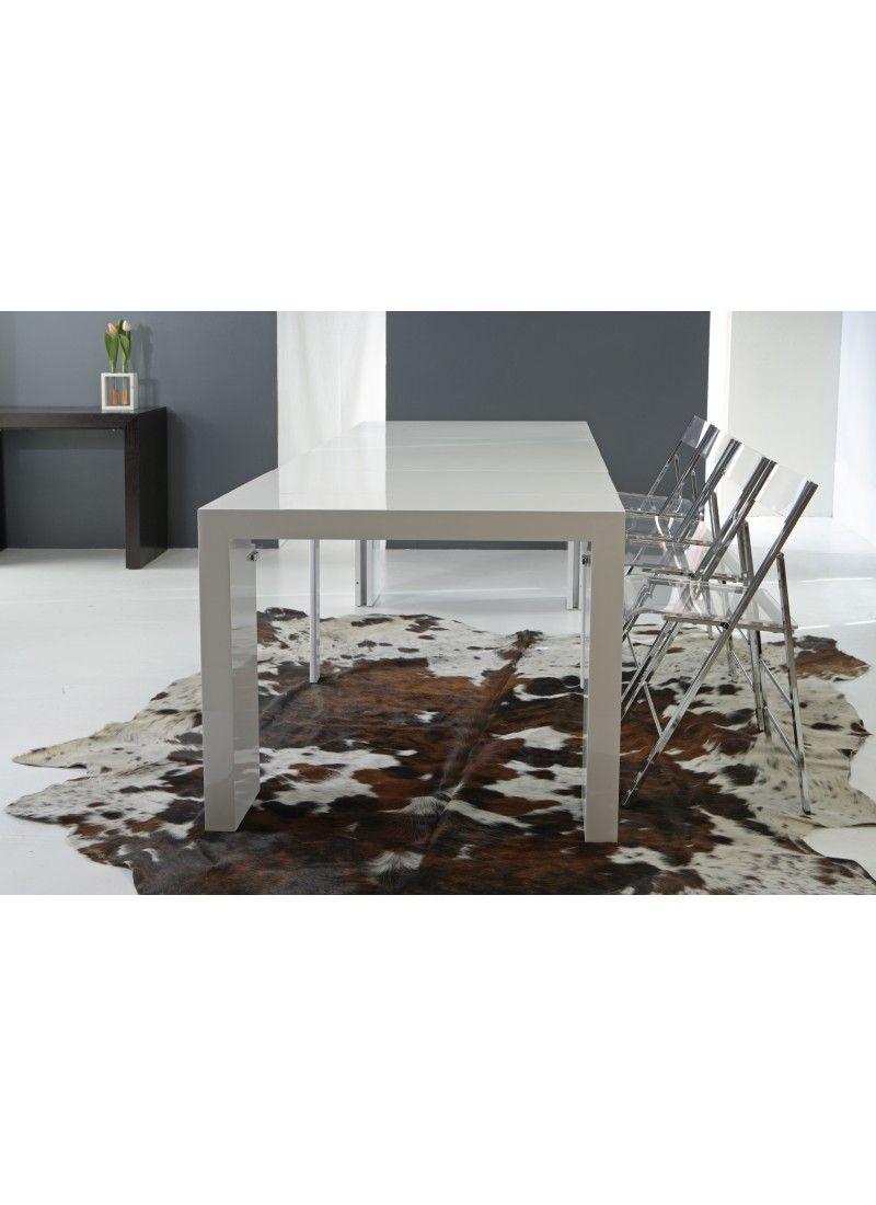 Consolle trasformabile in tavolo modello Magika 735 della Ditta La ...