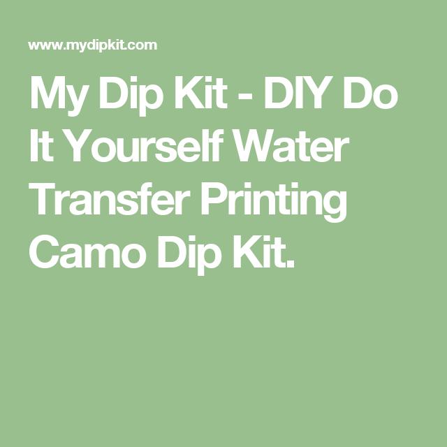 Diy do it yourself water transfer printing camo dip kit water carbon fiber hydrographics dipping kit dka cf 18 21 000 water transfer imaging dip kit solutioingenieria Choice Image