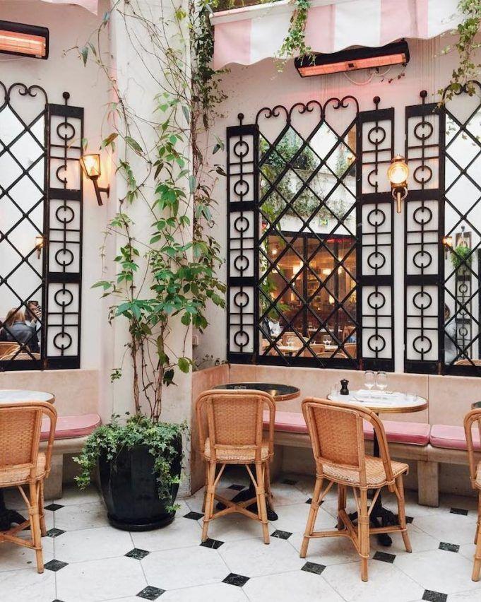 The Most Instagrammable Restaurants In Paris Pinterest