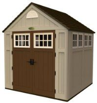 Suncast BMS7775 7-1/2-Feet by 7-Feet Alpine Shed // Description Suncast's Alpine Shed is constructed from durable blow molded resin. It has 10 windows with contrast trim and robust double doors with articulating metal hardware. The sturdy floor features extra reinforcement in tractor wheel areas. The metal trusses and ridge beam provide roof support. // Details Sales Rank: #140272 in Lawn &am// read more >>> http://Faulks809.iigogogo.tk/detail3.php?a=B004Z00V00