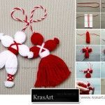 Don't Forget the Classics – Pizho and Penda; Little hanging yarn dolls
