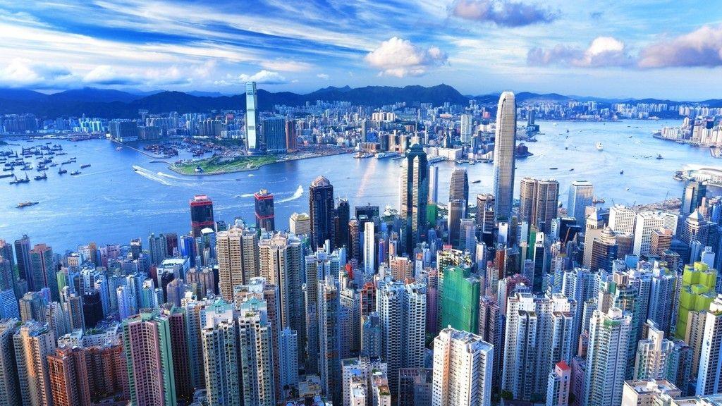 Hong Kong City Aerial View Wallpaper Hong Kong Travel Guide Hong Kong Travel Aerial View