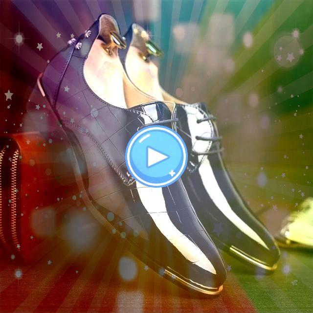 Zapatos de hombre Zapatos de vestir para fiesta de baile Zapatos de charol con punta puntiaguda Zapatos de boda  oxford shoes Remaches Zapatos de hombre Zapatos de vestir...